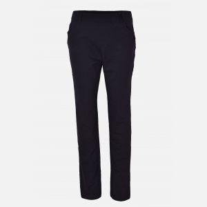 Spodnie damskie proste czarne - 46290