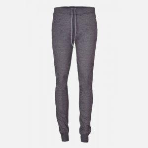 Spodnie damskie dresowe z wąskimi nogawkami szare - 46308