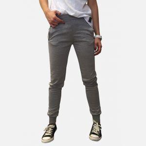 Spodnie dresowe damskie ciemny melanż - 46310