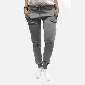 Spodnie dresowe damskie jasny melanż - 46310