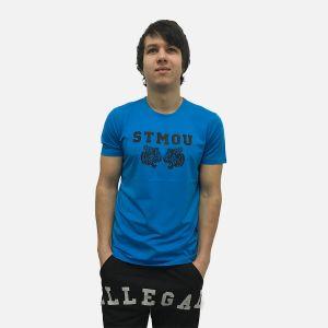 Koszulka Męska Benter - Niebieska 16643