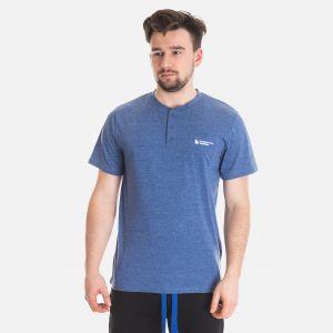 Koszulka Męska Benter - Ciemno - Niebieska 67307