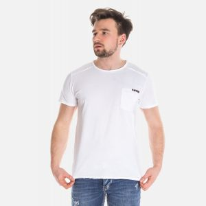 Koszulka Męska Włoska - Biała 2670