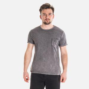 Koszulka Męska Włoska - Grafitowa 2771