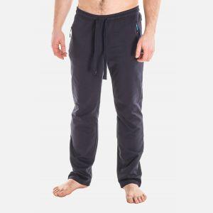 Spodnie Męskie Dresowe - Granatowo - Niebieskie 57361