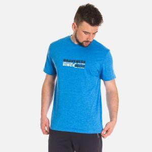 Koszulka Męska Bawełniana - Niebieska (67310)