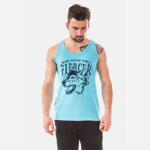 Top Męski - Koszulka Benter  - Niebieska (65209)