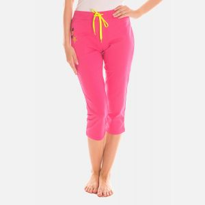 Spodnie Damskie 3/4 - Rybaczki - Różowe (46397)