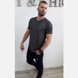 Koszulka Męska Benter - Grafit (46530)