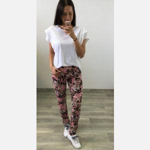 Spodnie Damskie Dresowe - Różowe (46569)