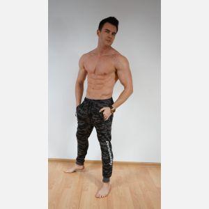 Spodnie dresowe męskie 28277 - grafit