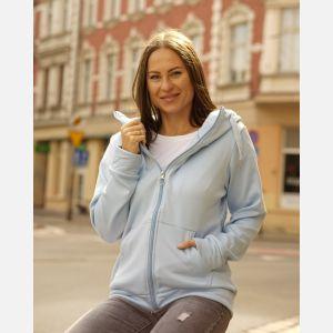 Bluza Damska Epister - błękitna (58410)
