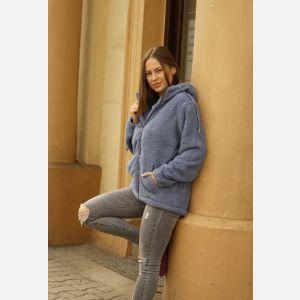 Bluza Damska temster- niebieski - 23524