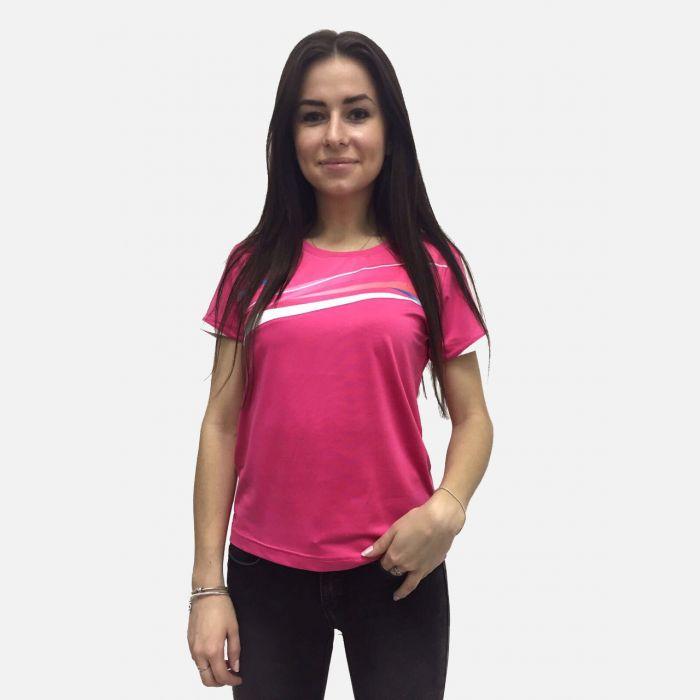 Koszulka fitness fuksja 28024