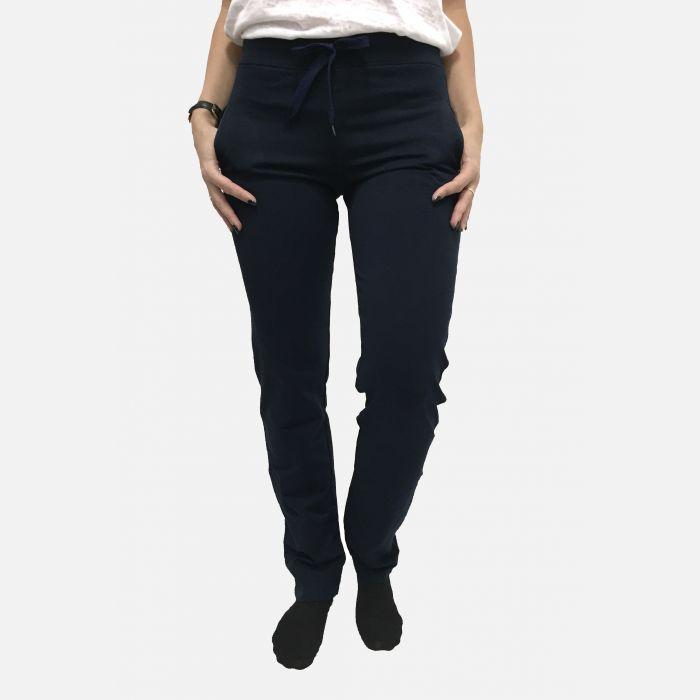 Spodnie damskie fitness granatowe - 84077