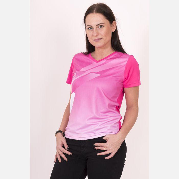 Oddychająca Koszulka Sportowa Malinowa 28032