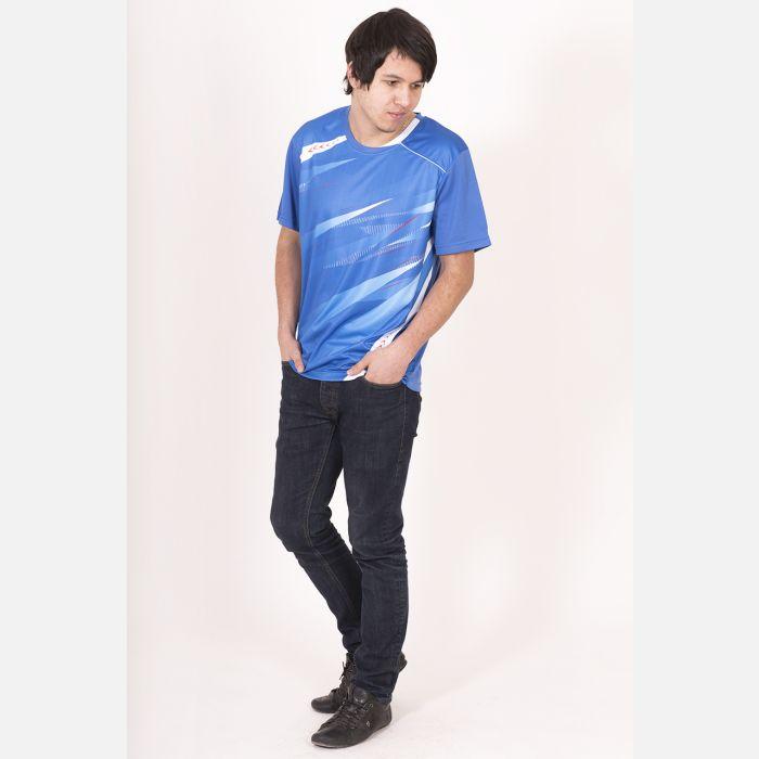 Sportowa Koszulka Termo Niebieska 28031