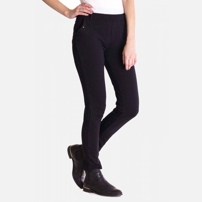 Eleganckie Spodnie Damskie - Czarne 46182