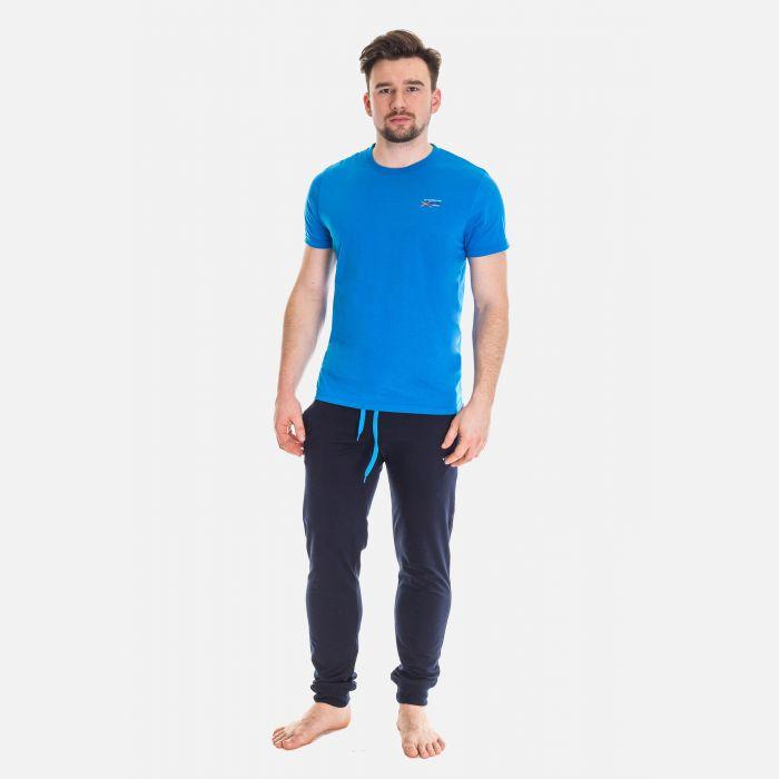 Koszulka Męska Benter - Niebieska 65205