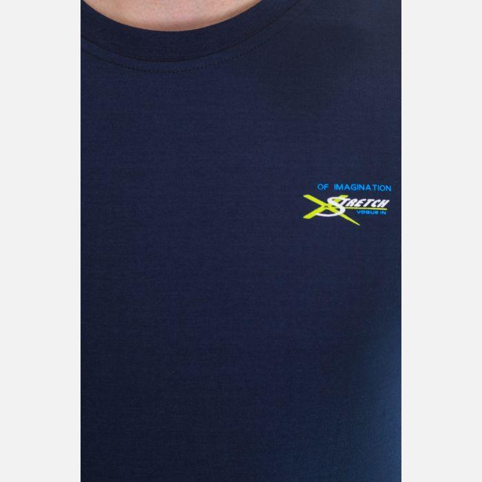 Koszulka Męska Benter - Granatowa 65205
