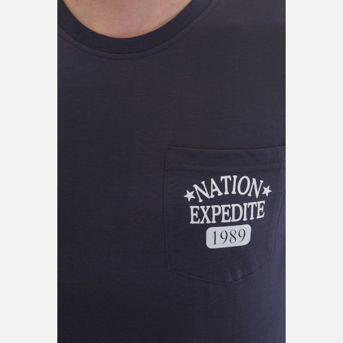 Koszulka Męska Benter - Grafitowa 67306