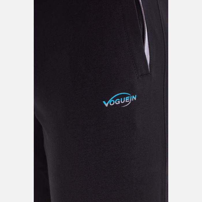 Spodnie Męskie Dresowe - Czarne 66271