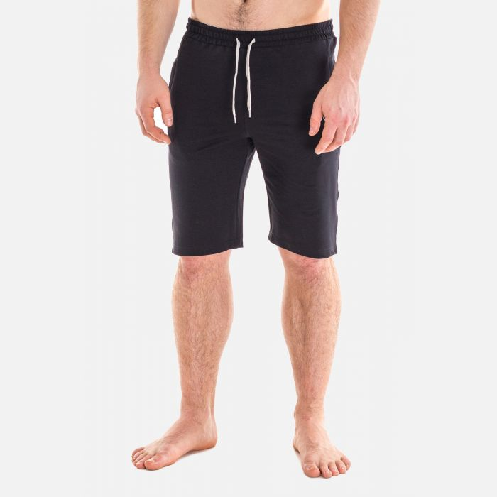 Spodnie Męskie Dresowe Krótkie - Granatowe 67372