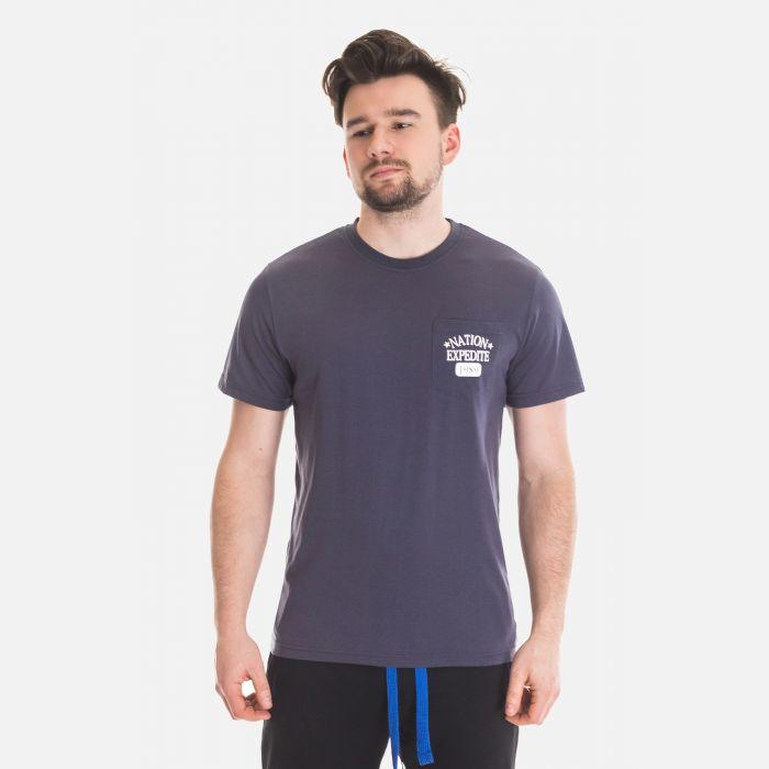 Koszulka Męska Benter - Grafitowa  67307