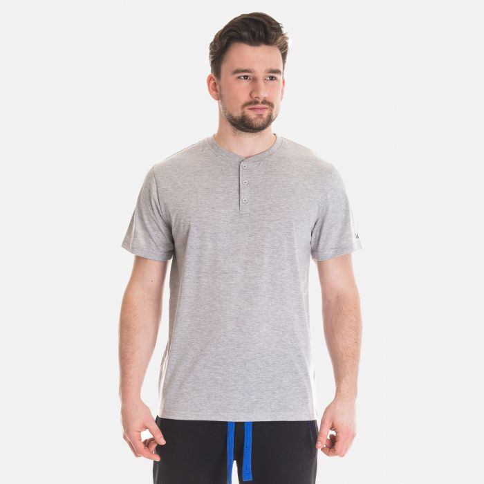 Koszulka Męska Benter - Jasno - Szara 67309