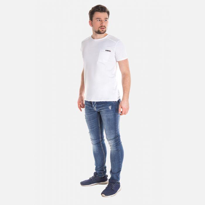 Spodnie Męskie Włoskie - Jeansy YB015
