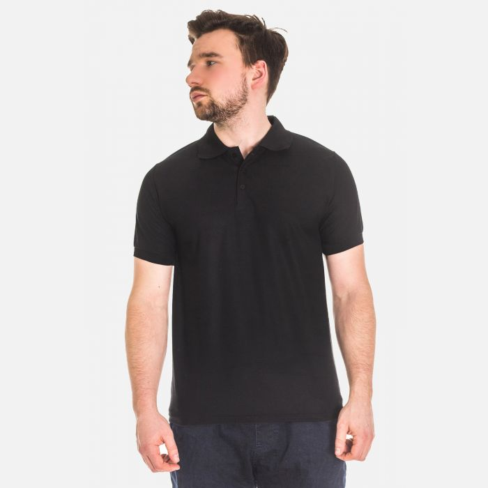 Koszulka Męska Polo - Czarna 17534