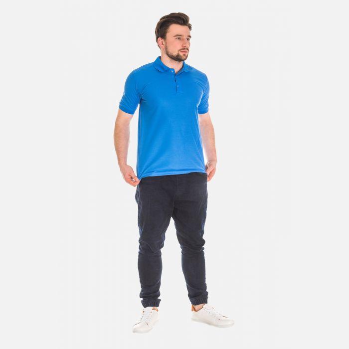Koszulka Męska Polo - Niebieska 17534