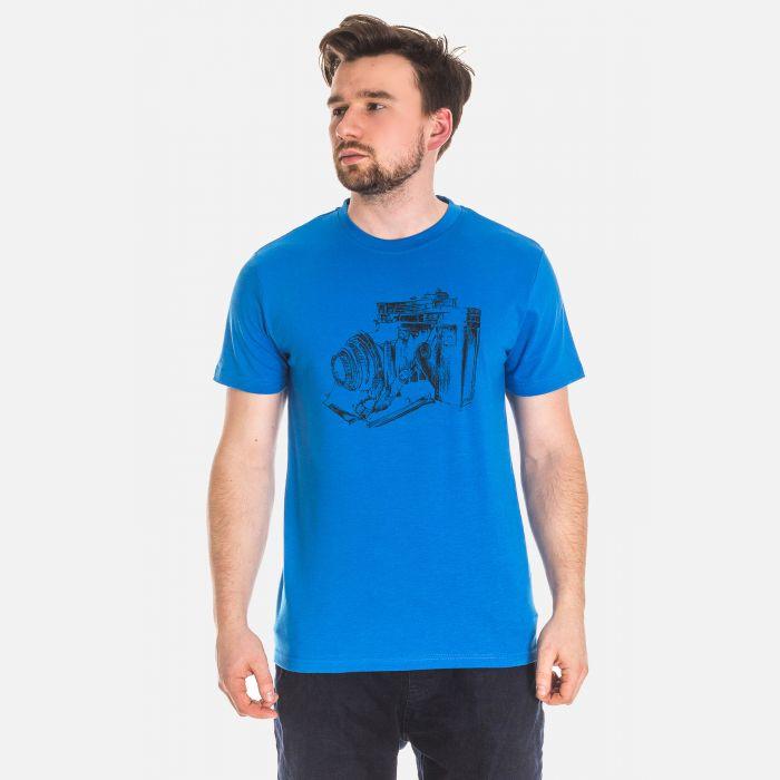 Koszulka Męska Niebieska - 61001