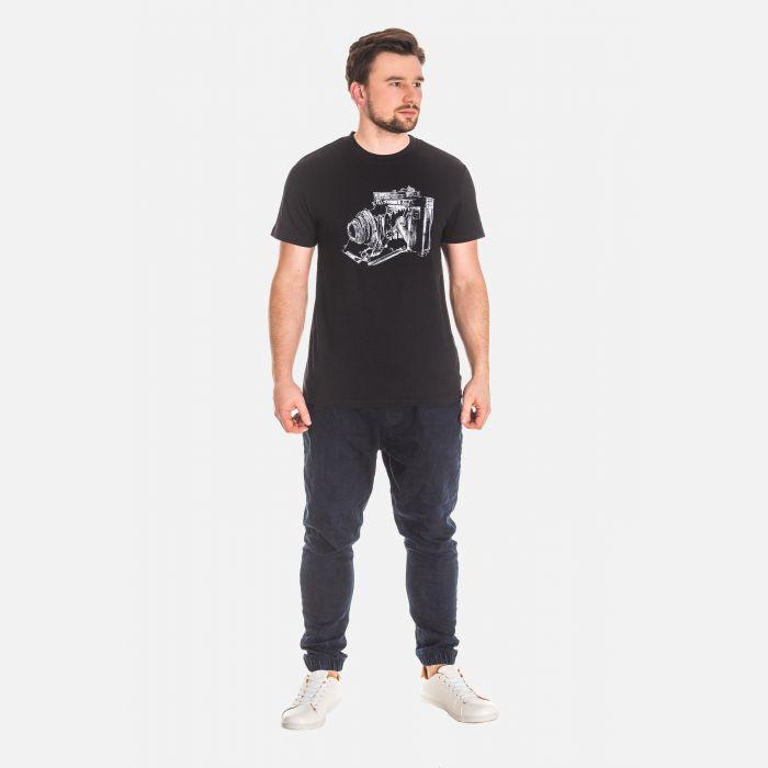 Koszulka Męska Czarna - 61001
