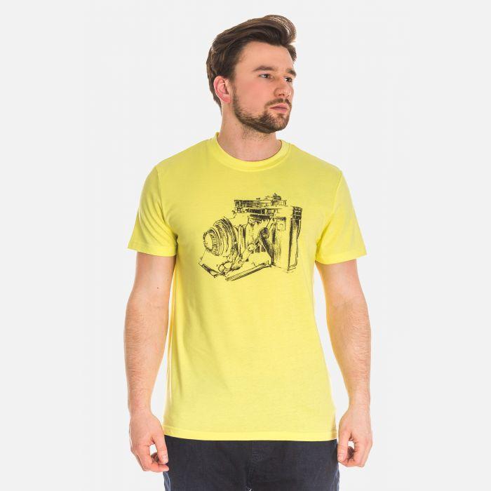 Koszulka Męska Żółta - 61001