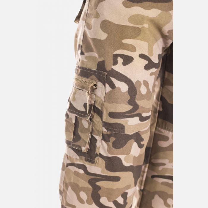 Spodnie Damskie Rybaczki - Moro Khaki (4100)