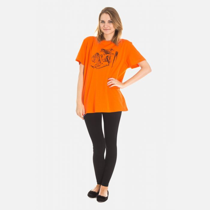 Koszulka Damska Pomarańczowa - 61001