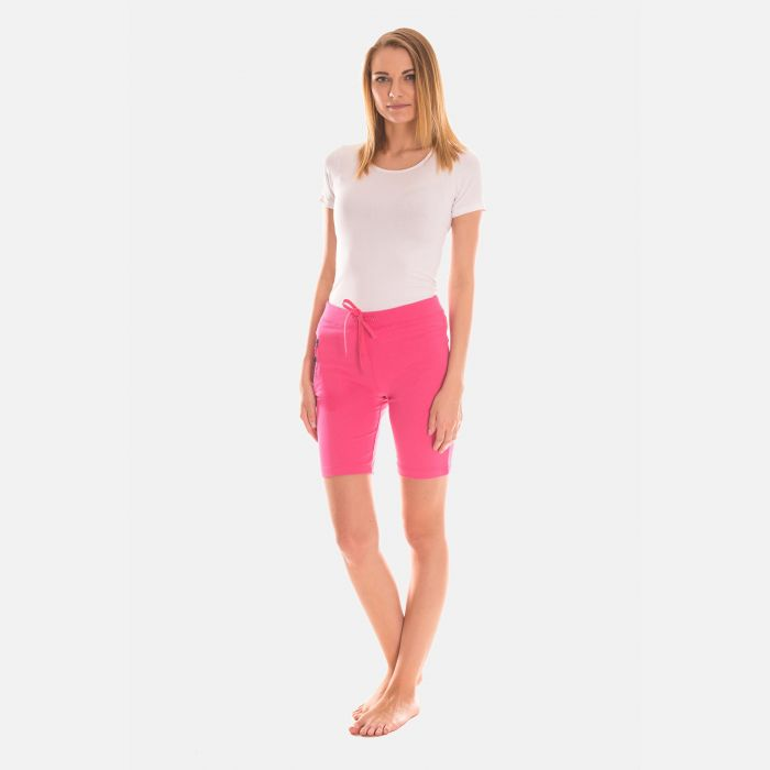 Spodnie Krótkie Damskie  - Różowe (46395)