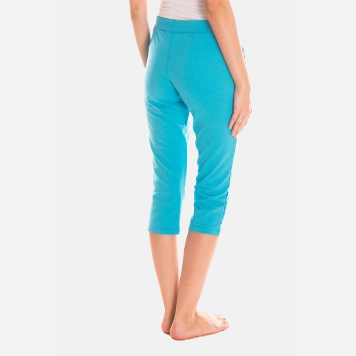 Spodnie Damskie 3/4 - Rybaczki - Niebieskie (46397)