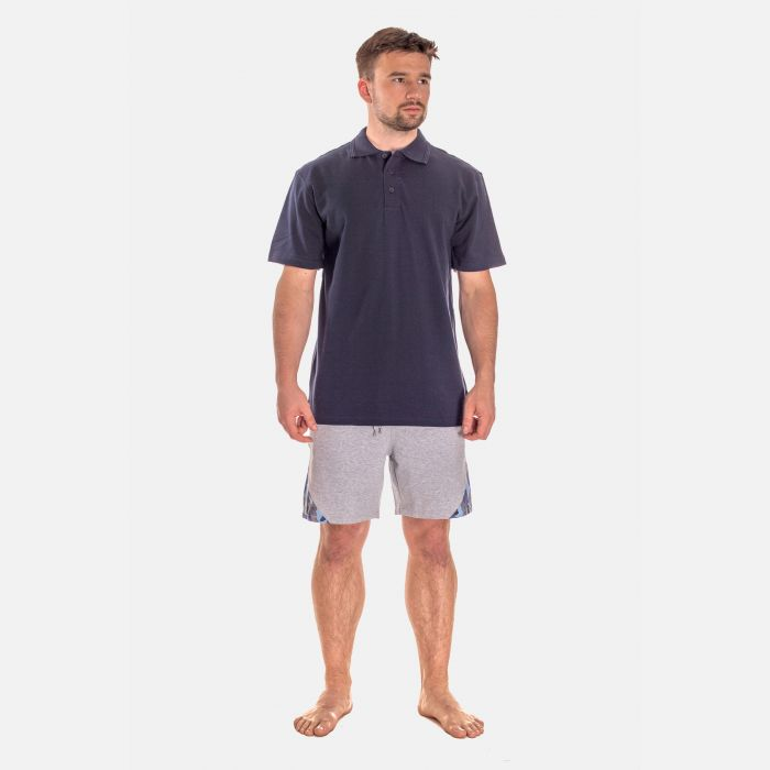 Koszulka Męska Polo - Granatowa (001)