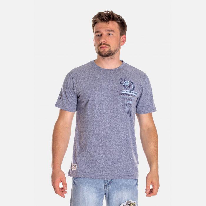 Koszulka Męska Benter - Niebieska 46412
