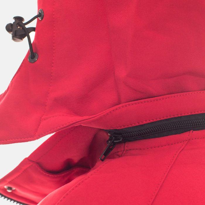 Kurtka damska typu: SOFTSHELL - Czerwona (12816)