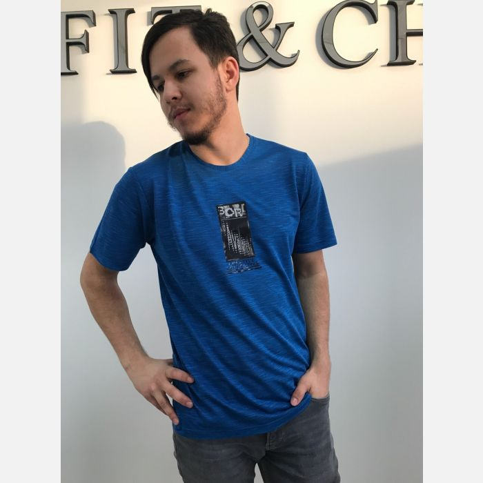 Koszulka Męska Benter - Niebieska 16127