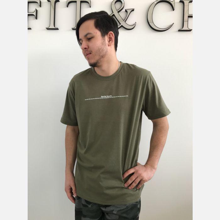Koszulka Męska Benter - Khaki (99001)
