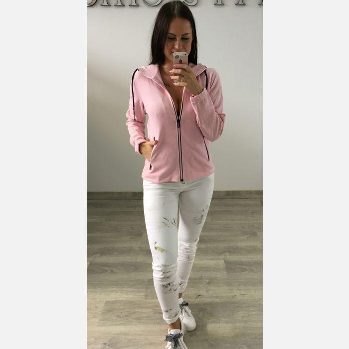 Bluza Damska Benter - Różowa 57854