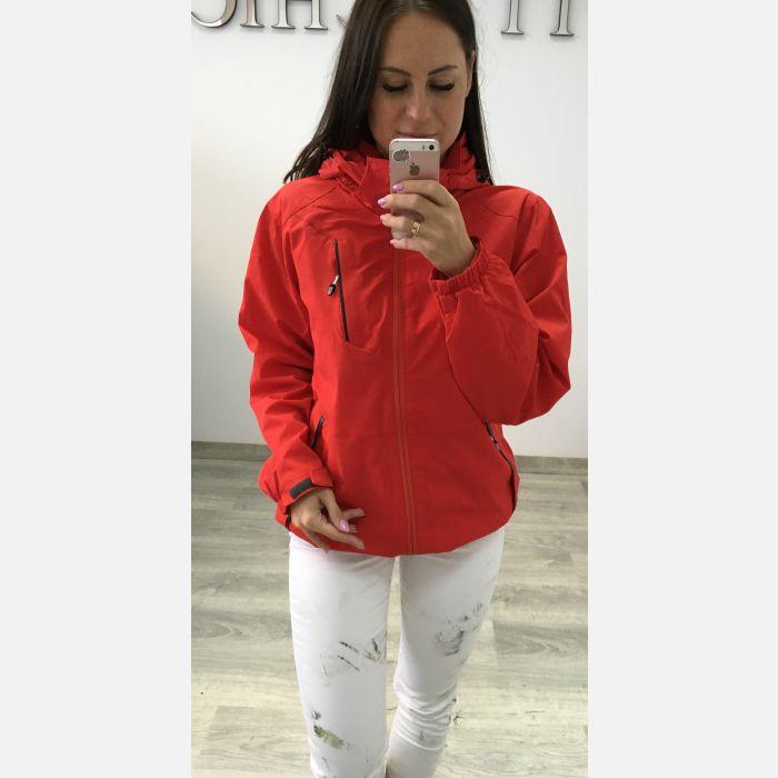 Kurtka damska typu: SOFTSHELL - Czerwona 23386