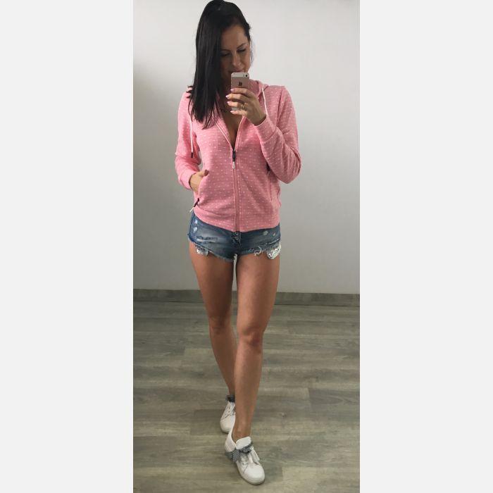 Bluza Damska Temster - Różowa (23391)