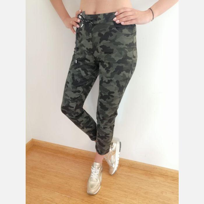 Spodnie Benter Damskie Moro khaki - 46012