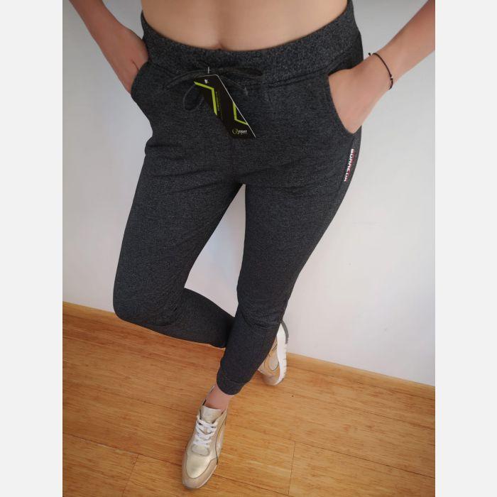 Spodnie Benter Damskie grafit - 46017