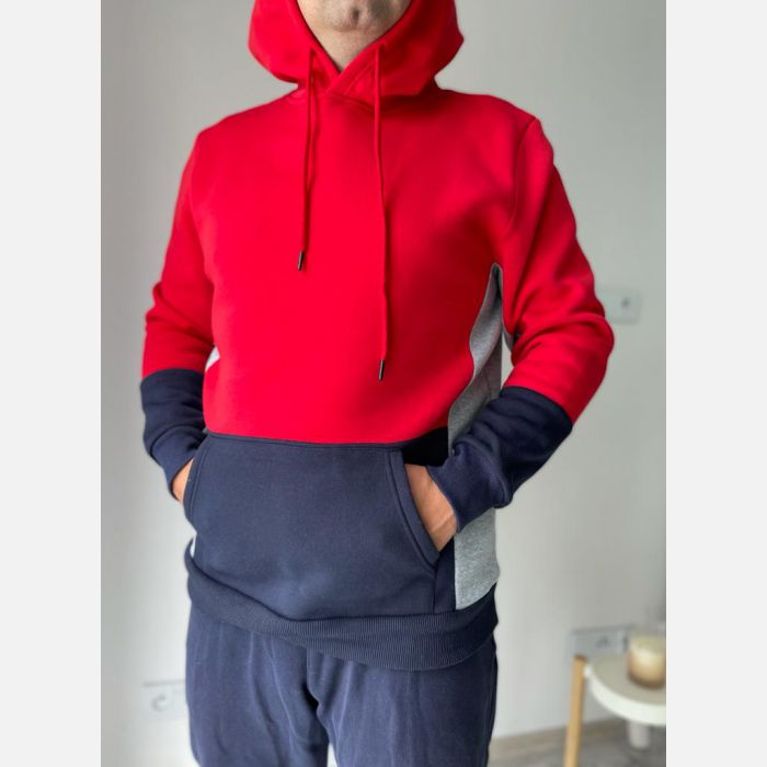 Bluza Męska Benter - 28268 czerwona